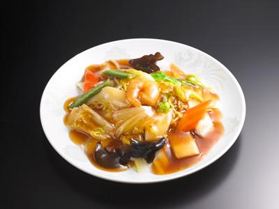 あんかけ焼きそば(正油味)|中華料理 東京五十番